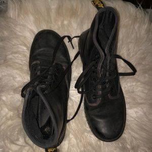 Dr. Martens leather high top